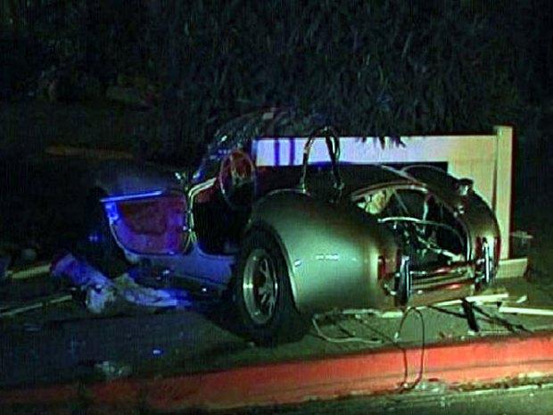 Shelby Cobra Replica Totaled in Crash
