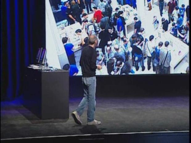 [BAY] Raw Video: Steve Jobs Makes Apple Announcement