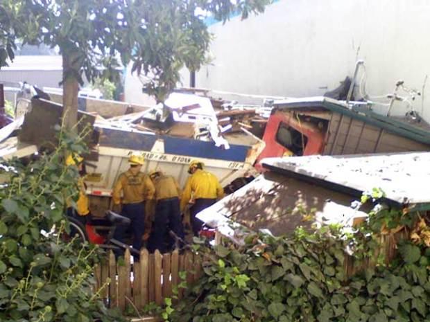 Gravel Truck Crashes in Santa Barbara, 3 Killed