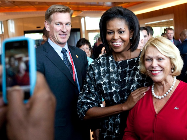 "[CHI] First Lady: Chicago ""A City That Works Really Well"""