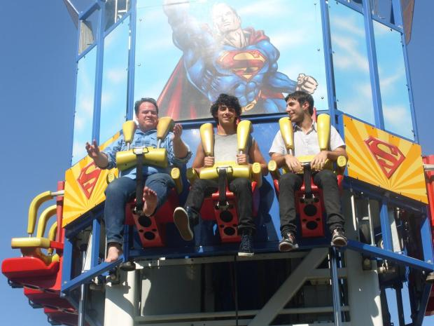 Jonas Brothers Hit Six Flags Over Texas