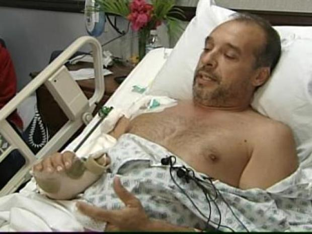 [MI] Man Survives Shark Attack