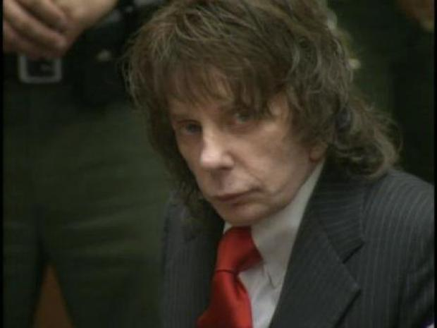 [LA] Phil Spector Awaits Sentence (RAW)