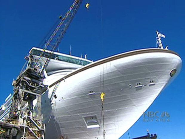 Mega Ship Sets Sail