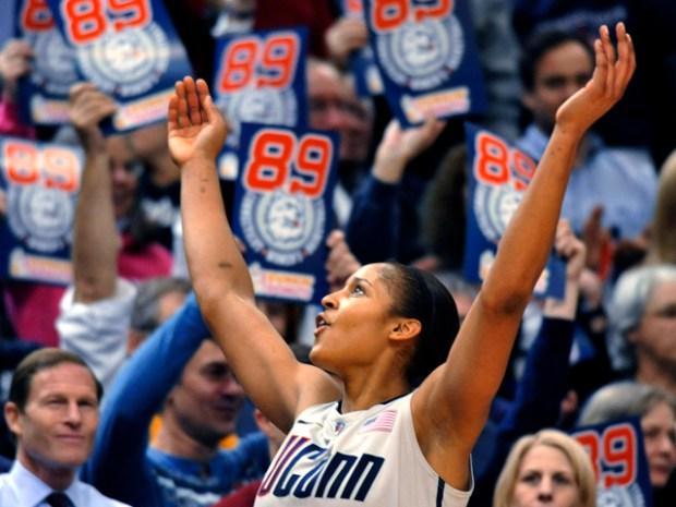 UConn Women Break Record With Win 89