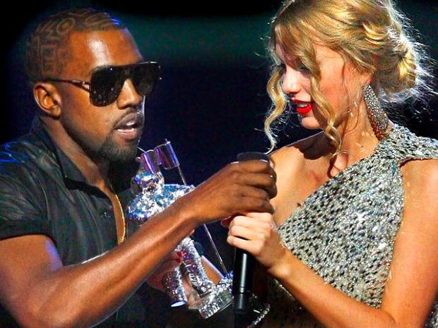 [NATL] MTV Video Music Awards: Kanye Crashes Taylor Swift's Speech