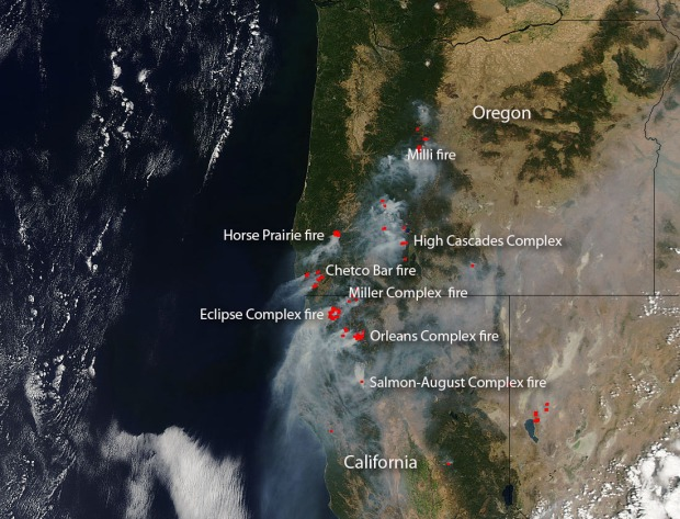 More Than 500000 Acres Have Burned In Oregon So Far This Year