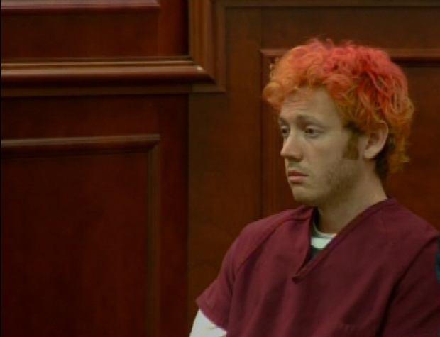 [BAY] Facial Expressions of Movie Massacre Suspect James Holmes in Court