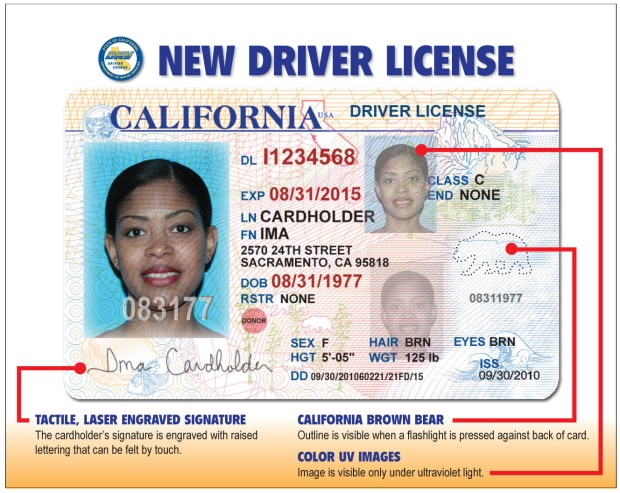 Pics of New Drivers Licenses, IDs