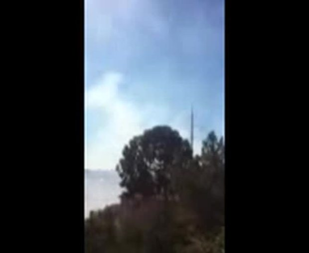 [UGCDGO-CJ-VID-breaking news] Brush Fire Raw Video
