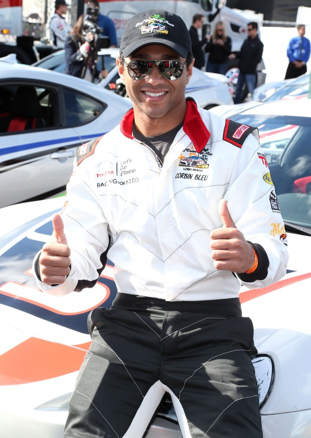 Celebrities in the Toyota Grand Prix of Long Beach Pro/Celebrity Race