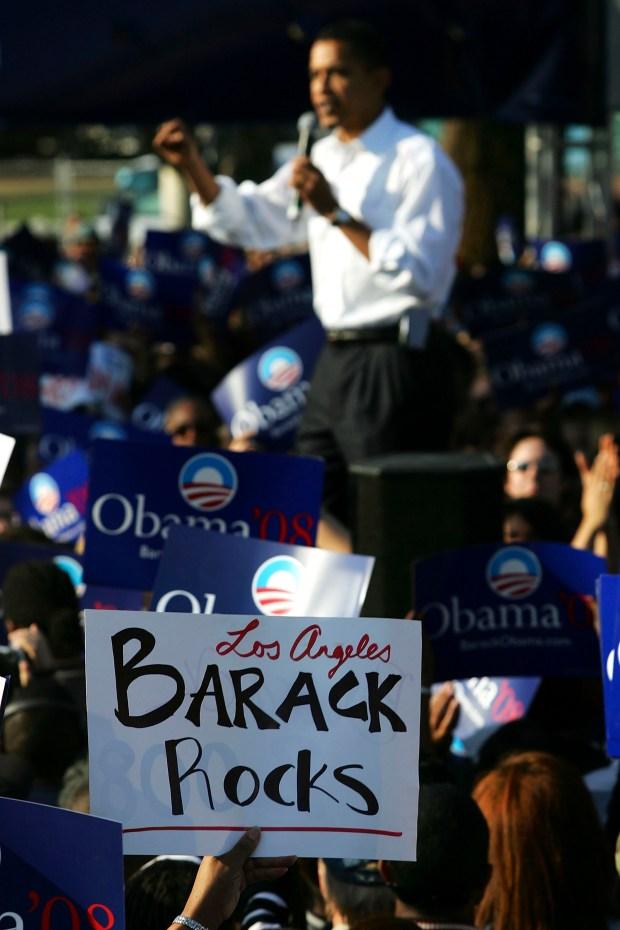 Obama Loves Angelenos