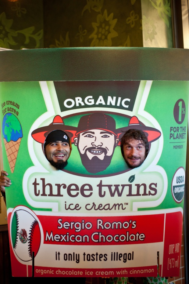 "Sergio Romo Attends ""It Only Tastes Illegal"" Ice Cream Party"