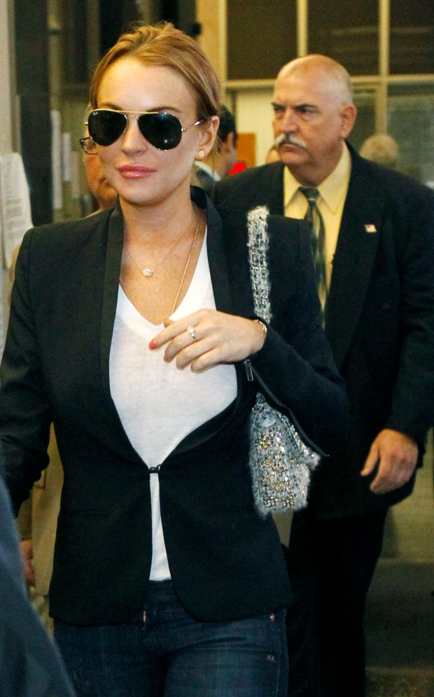 Lindsay Lohan: Another Day in Court