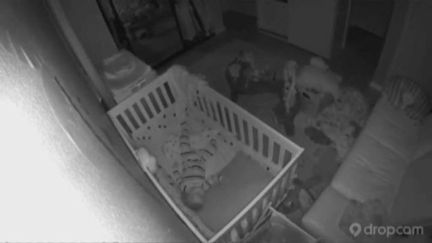 [BAY] Baby Monitor Video Shows Shaking from Napa Quake
