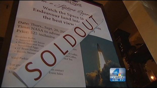[LA] LAX Encourages Spectators to Seek Endeavour Elsewhere