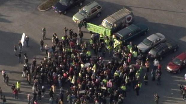 [DC] Black Friday Protest at Landover Walmart