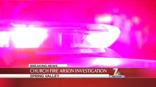 [DGO]Spring Valley Church Catches Fire