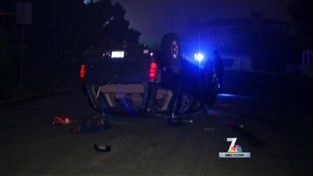 [DGO]16 Teens Inside Rolled Over SUV