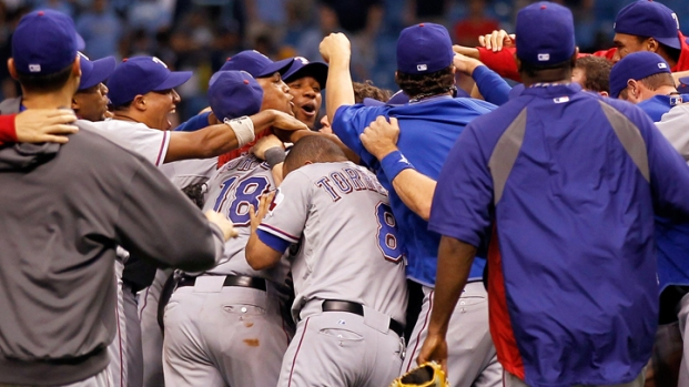 2011 ALDS: Texas Rangers Vs. Tampa Bay Rays