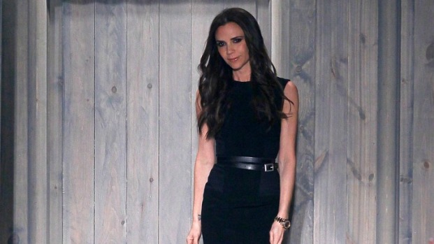 [THREAD] Victoria Beckham Pairs Cocktail Dresses with Combat Boots for Fall