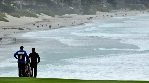 Phil Mickelson Wins at Pebble Beach