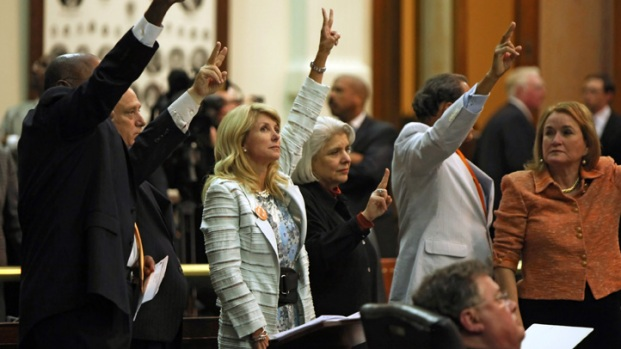 Scenes From Texas Senate Bill 5 Filibuster