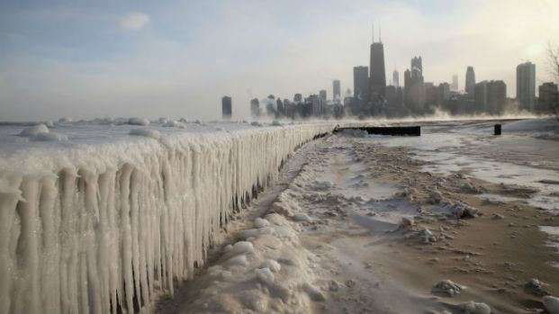 Awesome Lake Michigan Ice Photos