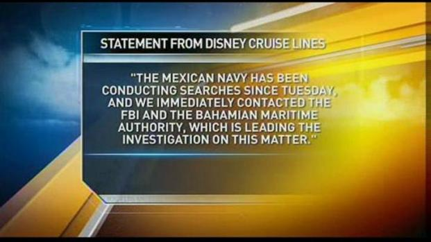 [LA] Authorities Search for a Crew Member who Disappeared from a Disney Cruise Ship at Sea