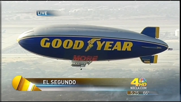 [LA] Goodyear Blimps to be Replaced with Zeppelins