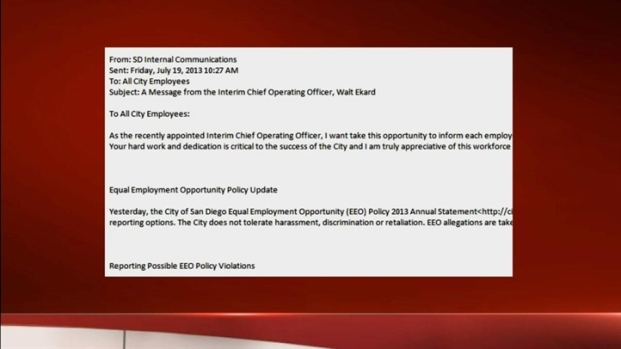 [DGO] City Outlines Harassment Policy