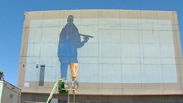 Iconic Lindbergh Field Mural Removed