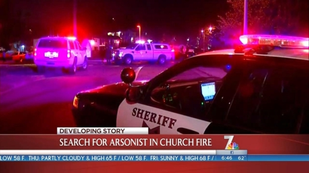 [DGO]Church Fire Investigated as Arson