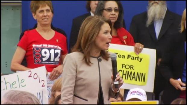 [LA] Michele Bachmann Speaks at Orange County Rally