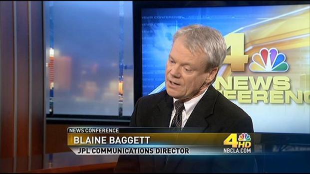 [LA] News Conference:  Blaine Baggett - JPL Communications Director