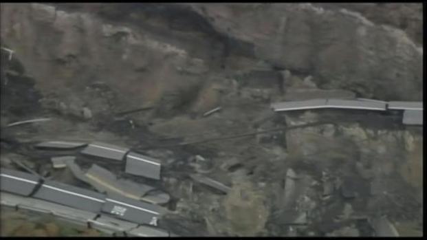 [LA] San Pedro Landslide Gets Worse