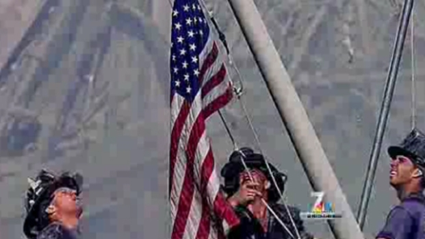 [DGO] Mystery of 9/11 Flag Leads to Escondido