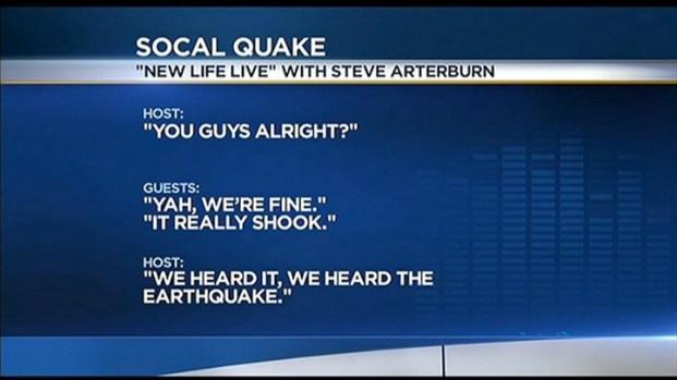 [LA] OC Earthquake Heard Over Radio Waves