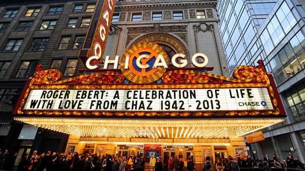 [CHI] Ebert Honored at Chicago Theatre Memorial