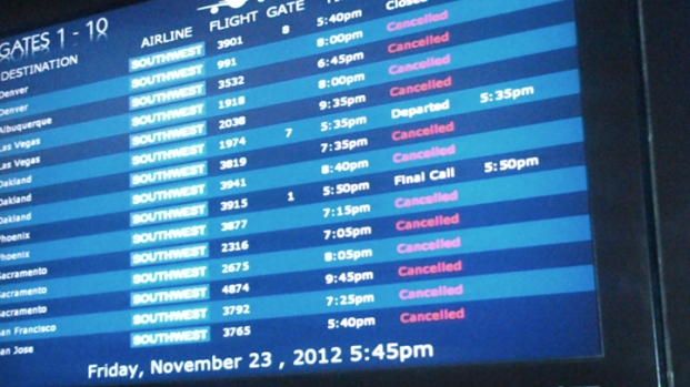 [DGO] Flights Cancelled Due to Dense Fog