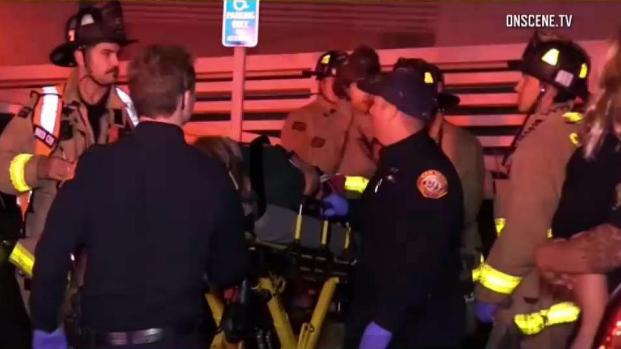 All Hands On Deck for Responders in Stairwell Collapse