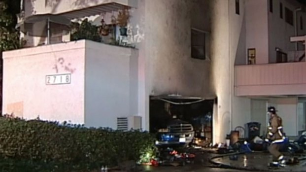 [G] Apartment Fire Injures North Clairemont Man