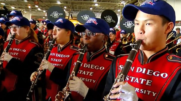 [DGO] Aztecs SDSU Poinsettia Bowl Battle of the Bands