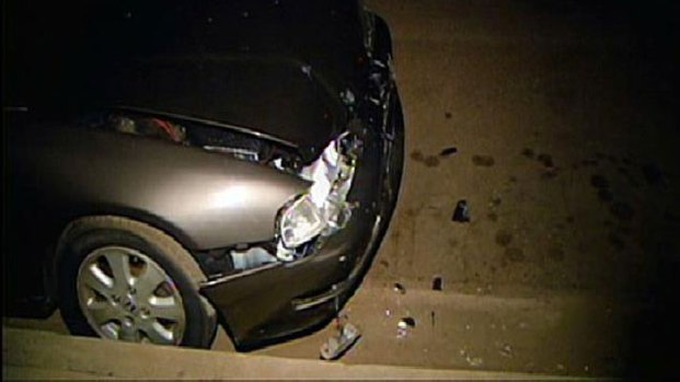 Truck Slams into Parked Cars in Bay Park: Images