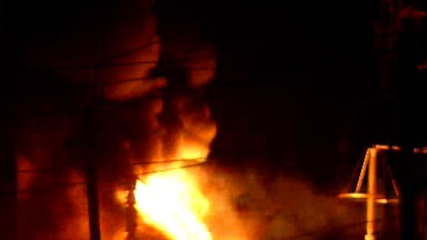 [DGO] Transformer Explodes into Flames in Bonita