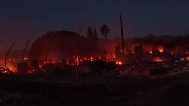 Bonsall Mobile Home Park Devastated by Lilac Fire