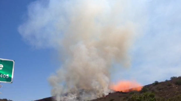 [DGO] Brush Fire Burns in East County