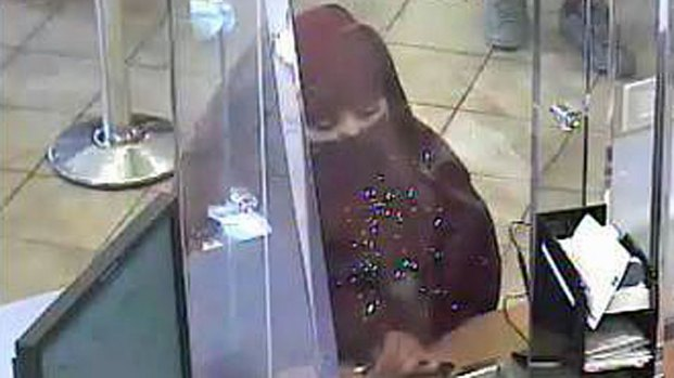 [DGO] Would-Be Bank Robber Wore Burka: FBI