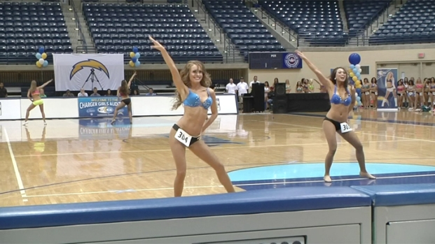 2013 Auditions Kick Off for Charger Girls Squad