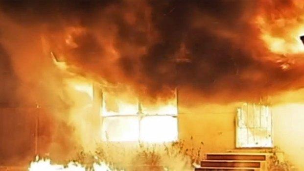 Fire Inside Chula Vista Assisted Living Center